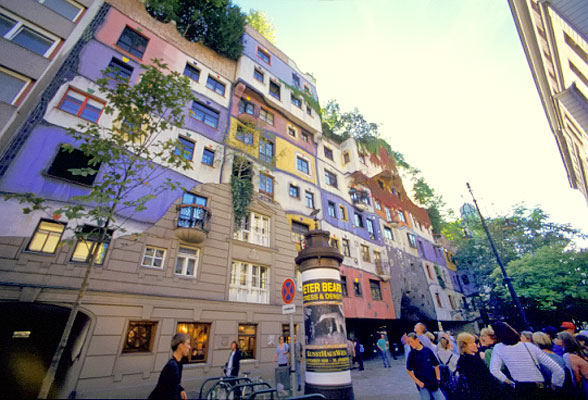 Hundertwasserhaus – An Amazing Housing Block