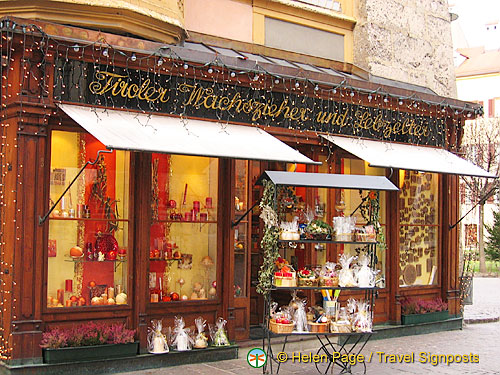 Gift Shopping On Your Innsbruck Holiday Austria Travel