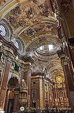 Interior of Melk Abbey