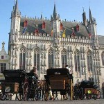 Bruges' magnificent town hall