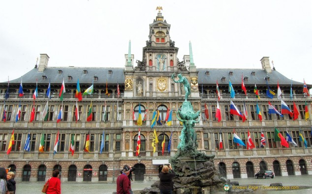 Antwerp main square