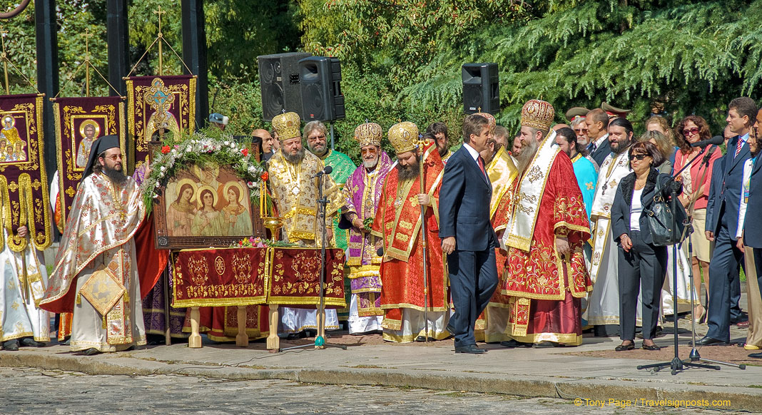 St. Sofia Day Celebrations in Sofia, Bulgaria