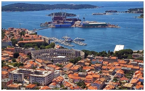 Pula Croatia Photos Croatia Part 2 – Pula And
