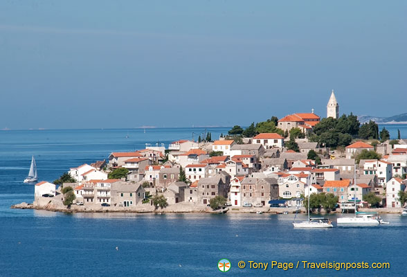 The Old Town Islet at Trogir, Croatia