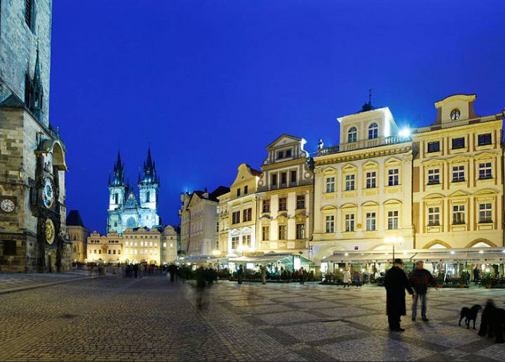 Grand Hotel Praha - A Hotel Facing the Astronomical Clock