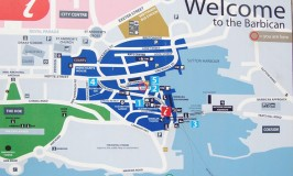 Barbican Plymouth Map