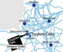 Directions to Cheshire Oaks