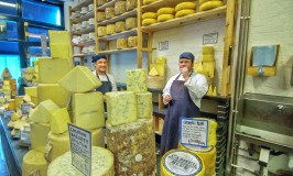 Colston Basset Stilton at the Neil's Yard Cheese shop