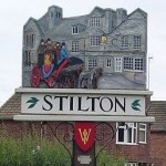 Stilton Village Signpost