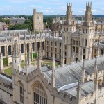 All Souls College from St. Mary's Tower © Travel Signposts..