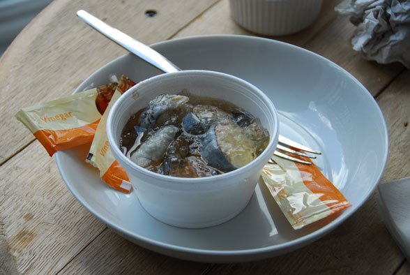 Jellied Eels - Traditional English Food