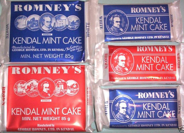 Kendal Mint Cake Calories
