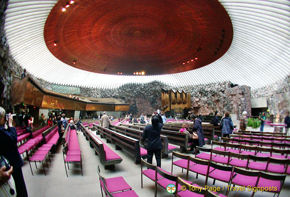 The Rock Church or Temppeliaukio Kirkko &#8211; Helsinki