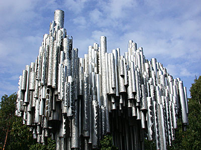The Sibelius Monument - Helsinki