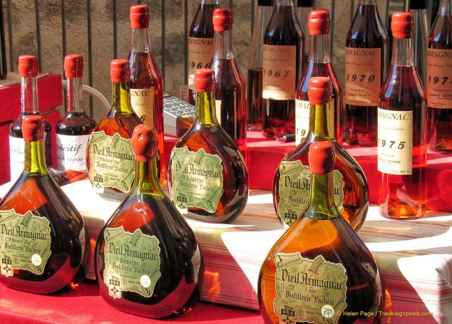 Armagnac, perhaps  France's finest brandy