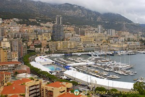 Monaco - View of Port