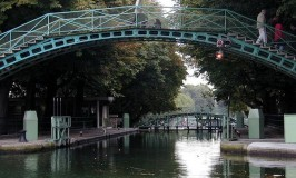 Canal St Martin Footbridge
