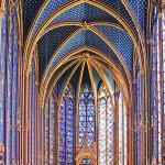 Sainte Chapelle Upper Chapel, Paris