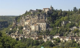 View of Rocamadour Village