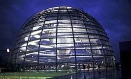 Reichstag, the German Parliament in Berlin
