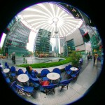 The Sony Center on Potsdamer Platz