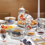 Meissen Porcelain tableware - Photo courtesy of GNTB