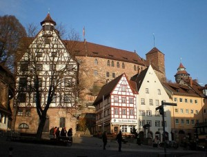 Pilatushaus and Kaiserburg, Nuremberg