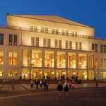 Oper Leipzig at Night © LTM-Andreas Schmidt