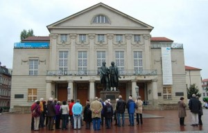 Weimar Theatre Square