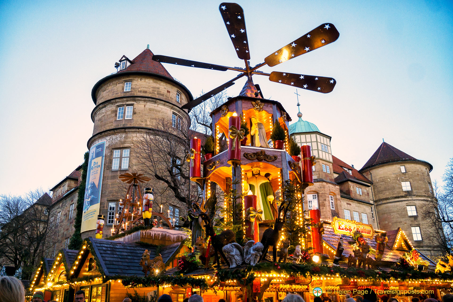 Live From The Stuttgart Christmas Market Germany Travel