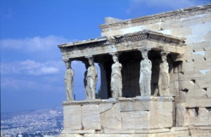 The Erechtheion, the Acropolis