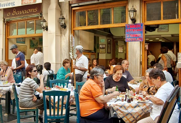 Eating out on your Athens holiday