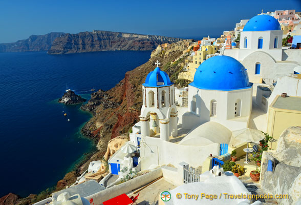 Santorini in the Greek Isles