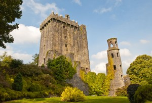 Blarney Castle - the Blarney Stone is at the top!