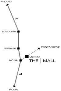 Direction to The Mall