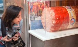 The biggest mortadella in the world!