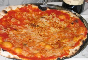 Pizza is a speciality of Southern Italy