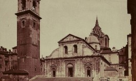 Turin Cathedral around the 1870s