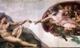 Sistine Chapel Ceiling - Creation of Adam © Travel Signposts