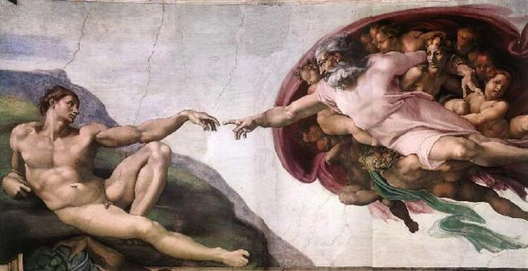 How long did it take Michelangelo to paint the ceiling of the