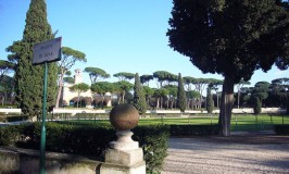 Villa Borghese, Piazza di Siena by Howard Hudson