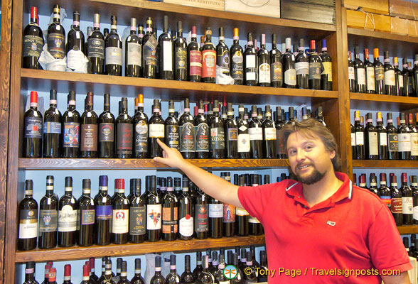 Tuscan Wines in Siena