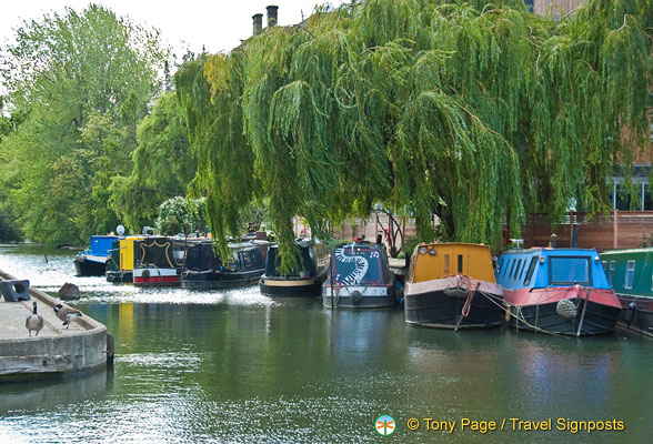 Regent&#8217;s Canal &#8211; Canal Holidays