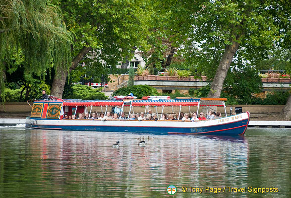 Canal Cruises and Canal Holidays - Regents Canal