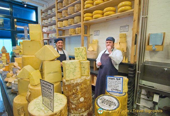 Neal's Yard - A Fabulous Cheese Shop in Borough Market