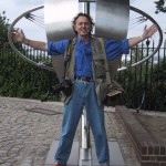 Tony on the Greenwich Meridian Line