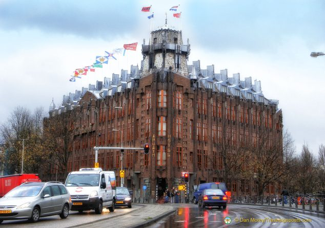The ornate Scheepvaarthuis (Shipping House), converted to the luxurious Grand Hotel Amrath in 2006