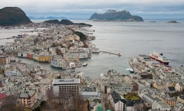 View of Alesund, Norway