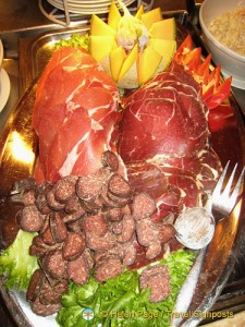 Meat Platter - Hurtigruten Cruise..