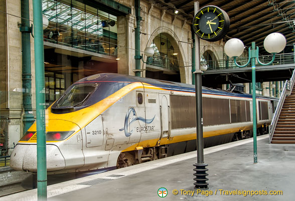 Paris Eurostar at Gare du Nord